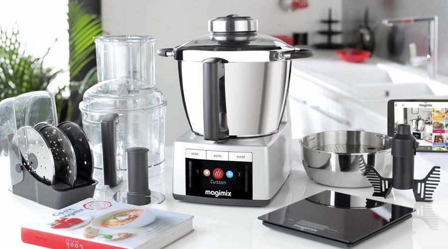 photo du robot cuiseur magimix cook expert