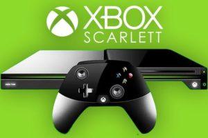 photo de la console xbox scarlett