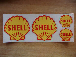 photo d'un sticker shell pour voiture