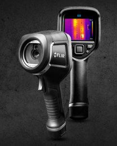 camera thermique flir e8