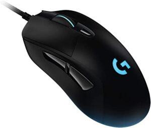 photo d'une souris gamer logitech